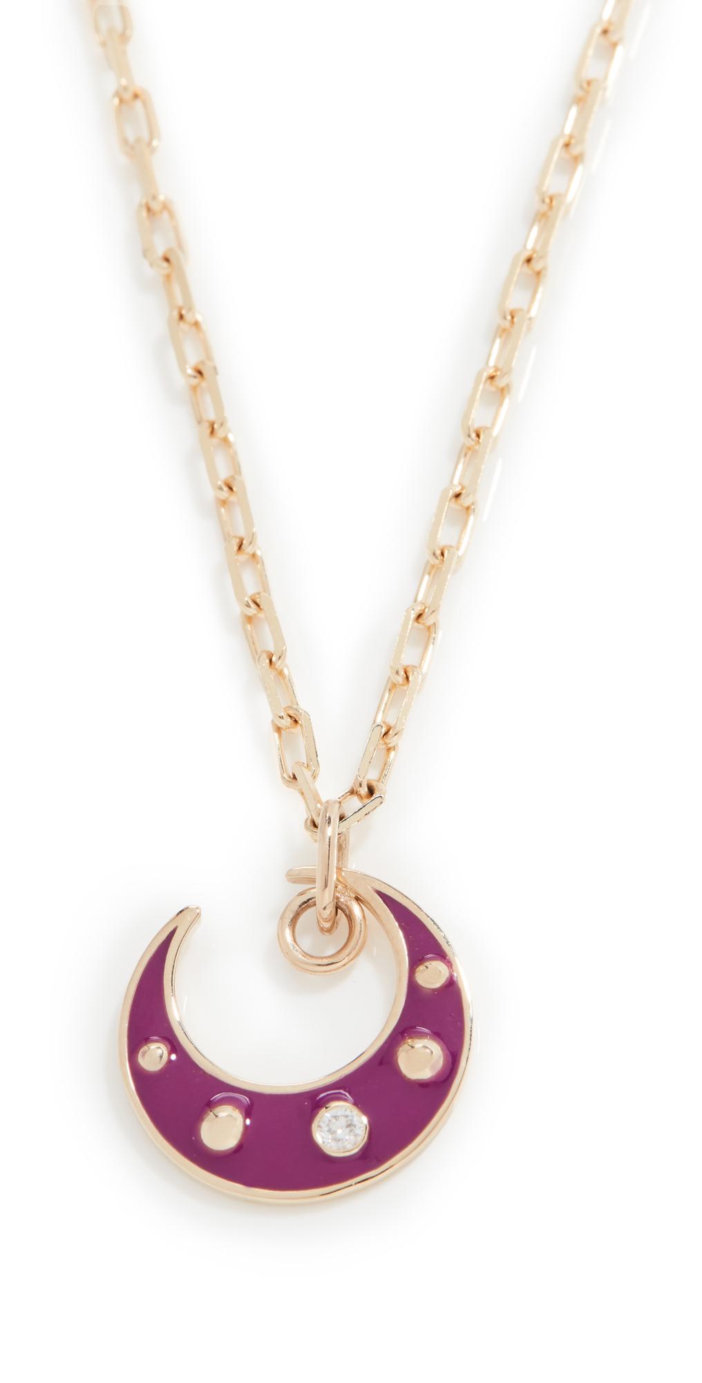 Purple Moon Pendant