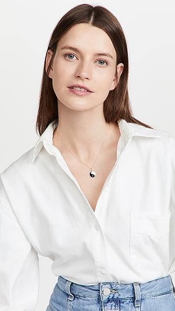 Gemma Yin Yang Necklace