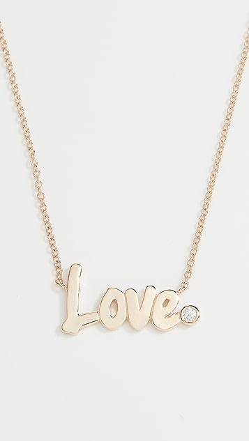 Gemma Love Necklace