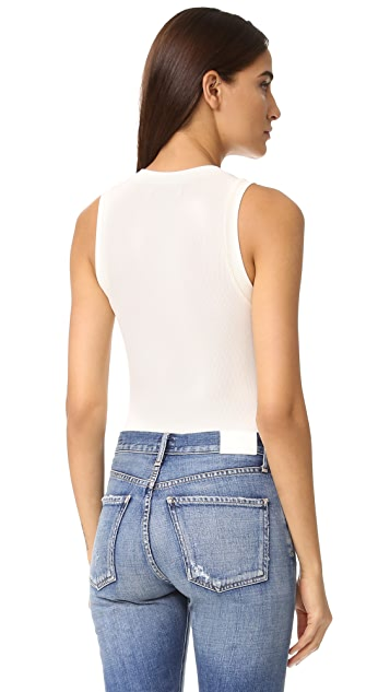 GETTING BACK TO SQUARE ONE The Sleeveless Bodysuit