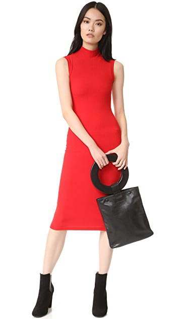 GETTING BACK TO SQUARE ONE Sleeveless Dress