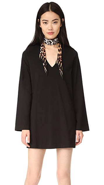 GETTING BACK TO SQUARE ONE V Neck Dress