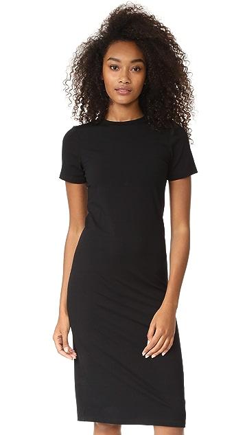 GETTING BACK TO SQUARE ONE T-Shirt Midi Dress