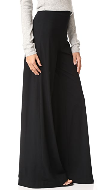 GETTING BACK TO SQUARE ONE High Rise Palazzo Pants