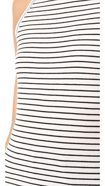 GETTING BACK TO SQUARE ONE The Rib Muscle Tee