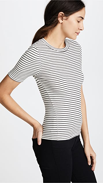GETTING BACK TO SQUARE ONE Short Sleeve Crop Crew Tee