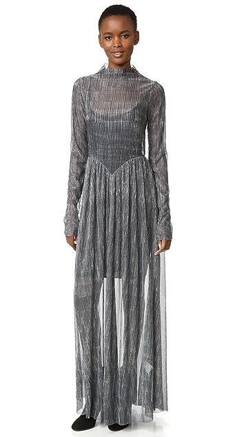 Giada Forte Metallic Dress