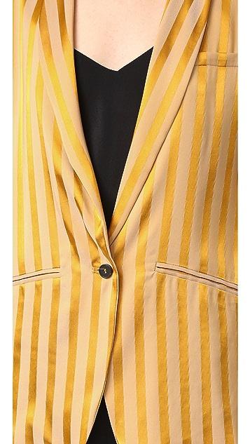 Forte Forte Satin Striped Jacket