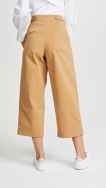 Forte Forte Twill Short Pants