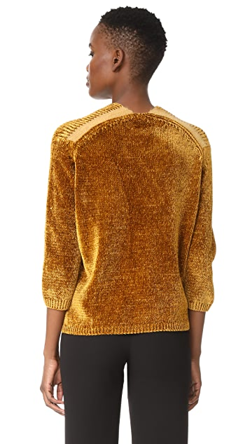 Giada Forte English Knit V Neck Sweater