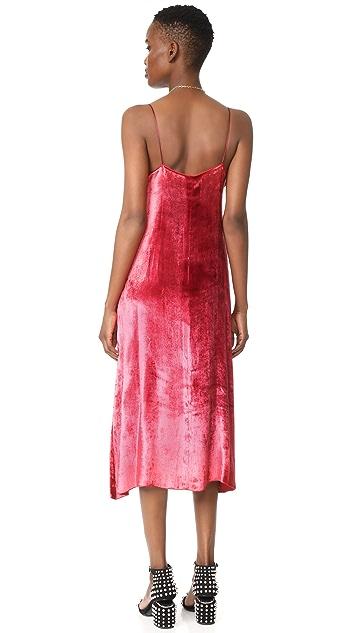 Forte Forte Velvet Slip Dress