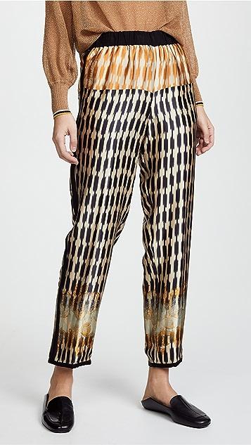 Forte Forte Printed Silk Pants