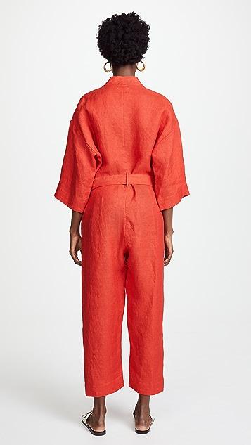 Forte Forte Linen Jumpsuit