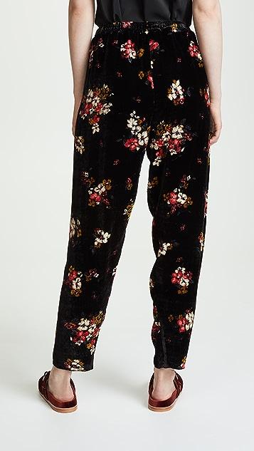 Forte Forte Scented Garden Velvet Pants