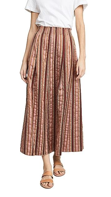 Forte Forte Металлизированная длинная юбка