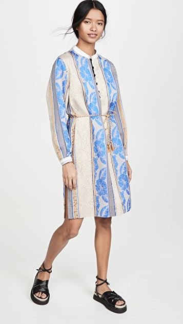 Forte Forte Saint Barth Jacquard Tunic Dress