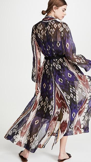 Forte Forte Encens Slubbed Voile Dress