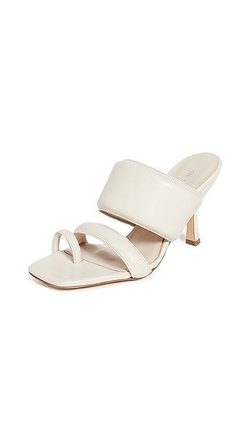 Gia Borghini x Pernille Teisbaek 80mm 凉鞋