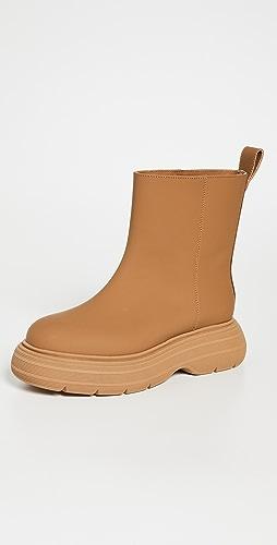 Gia Borghini - Marte 厚实鞋底皮短靴