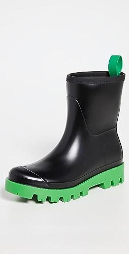 Gia Borghini - Giove Short Rubber Rain Boots
