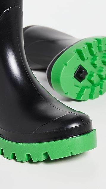 Gia Borghini Giove Short Rubber Rain Boots