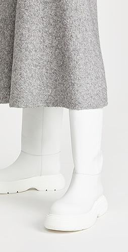 Gia Borghini - Marte Bis Tall Leather Boots