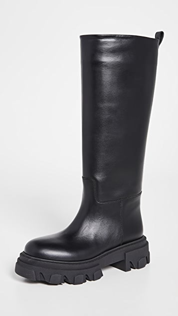 Gia Borghini X Pernille Teisbaek Tubular Combat Boots