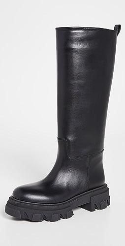 Gia Borghini - X Pernille Teisbaek Tubular 军旅靴