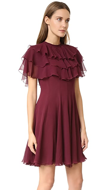 Giambattista Valli Ruffle Dress