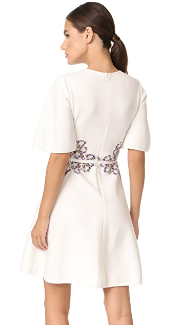 Giambattista Valli Half Sleeve Dress
