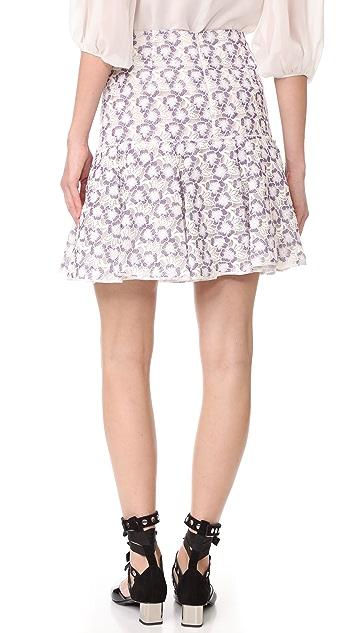 Giambattista Valli Ruffle Skirt