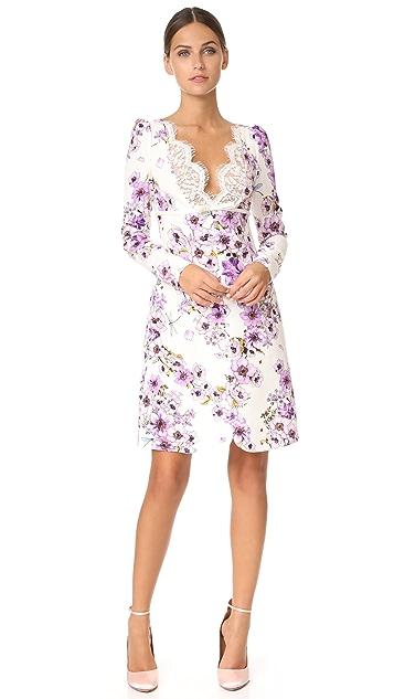 Giambattista Valli Long Sleeve Dress