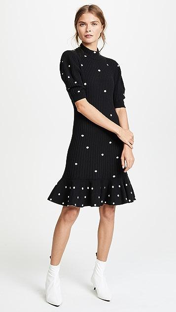 Giambattista Valli Polka Dot Dress
