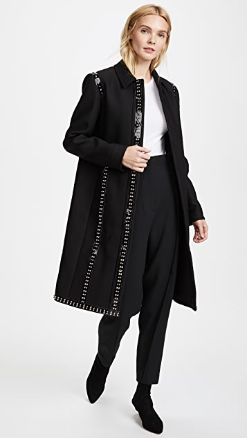 Giambattista Valli Long Collared Coat