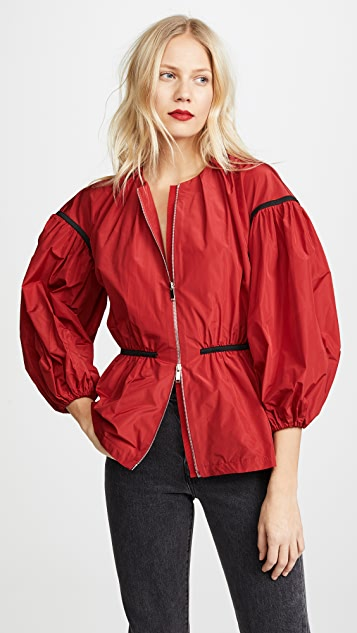 Giambattista Valli Puff Sleeve Zip Jacket