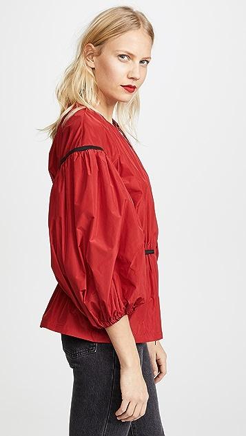 Giambattista Valli Puff Sleeve Zip Jacket