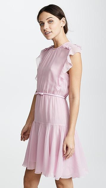 Giambattista Valli Sleeveless Pink Dress
