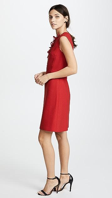 Giambattista Valli Sleeveless Dress with Bows