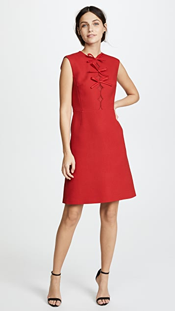 Giambattista Valli Sleeveless Dress with Bows