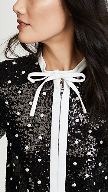 Giambattista Valli Polka Dot Jacket