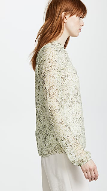 Giambattista Valli Sheer Blouse