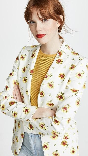 Giambattista Valli Floral Blazer