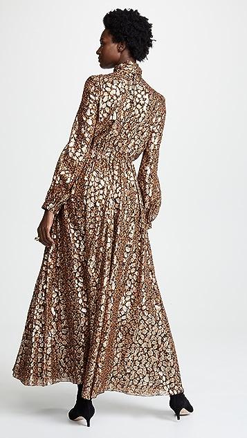 Giambattista Valli Платье со складками