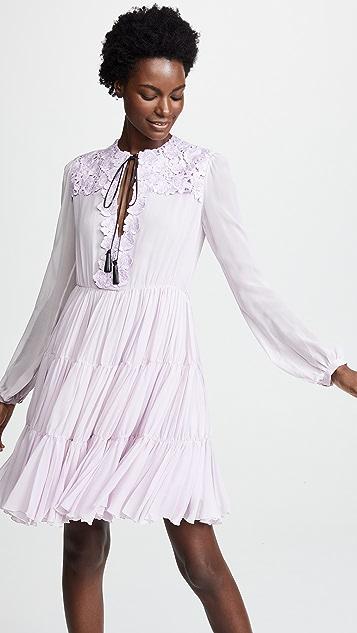 Giambattista Valli Tiered Tulle Dress