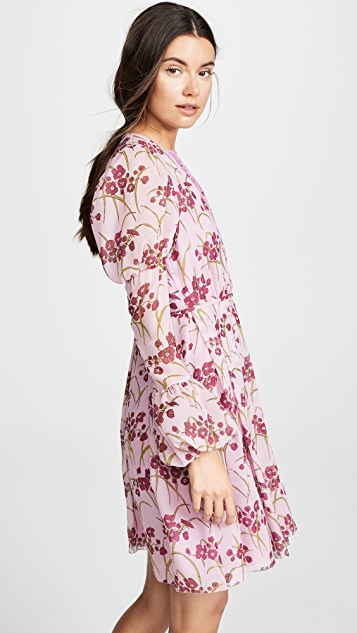 Giambattista Valli Puff Sleeve Floral Dress
