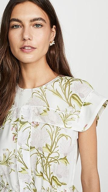 Giambattista Valli Floral Mini Dress