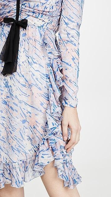 Giambattista Valli Puff Sleeve Mini Dress