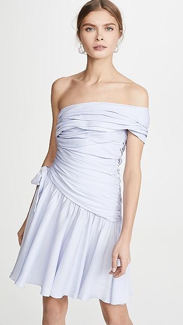Giambattista Valli Мини-платье с открытым плечом
