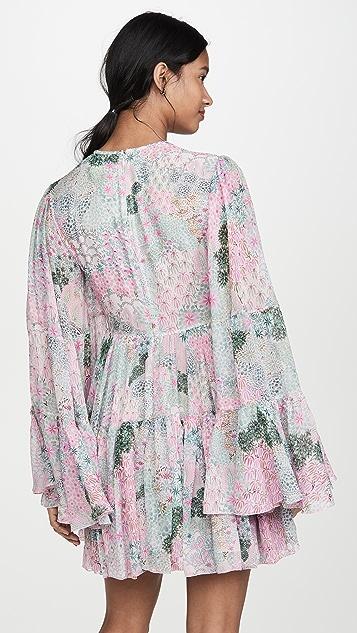 Giambattista Valli Long Sleeve Mini Dress