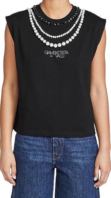 Giambattista Valli Embellished T-Shirt